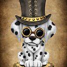 Netter Steampunk dalmatinischer Hündchen von jeff bartels