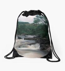 Bracklinn Falls, Scotland Drawstring Bag