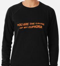 You Are The Cause Of My Euphoria Lightweight Sweatshirt