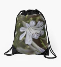 Agapanthus Tote Drawstring Bag