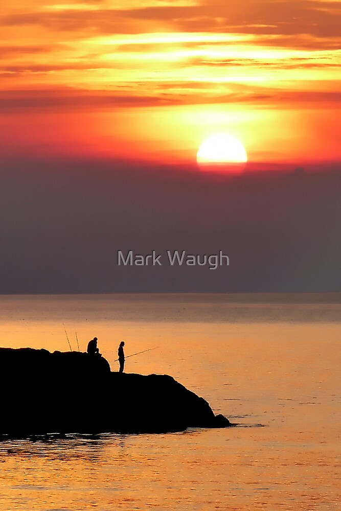 Great Stookan Sunset by Mark Waugh