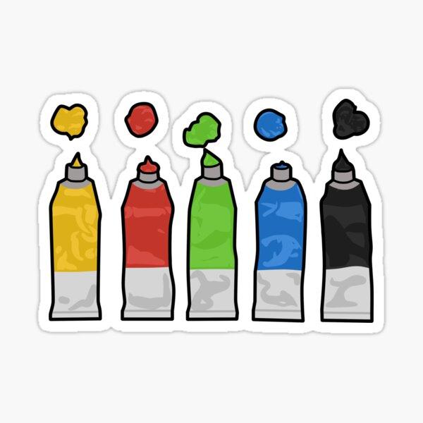 paints Sticker