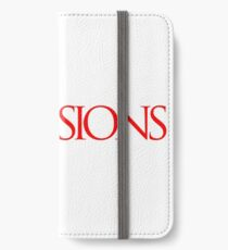 Red Expressions Logo iPhone Wallet/Case/Skin
