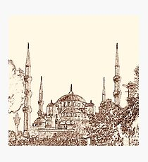 Blue Mosque Photographic Print