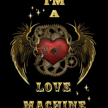 Steampunk Heart Love Machine by LuciaS