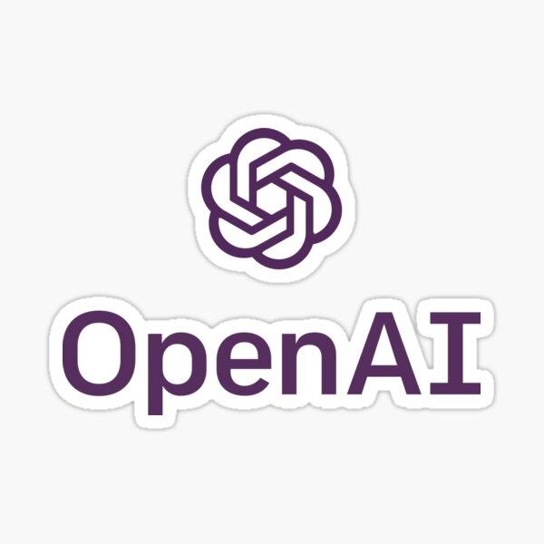 OpenAI Logo Sticker