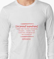 Second Amendment Equality Long Sleeve T-Shirt