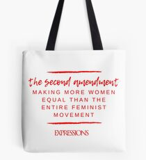 Second Amendment Equality Tote Bag