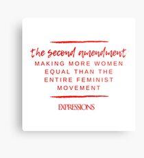 Second Amendment Equality Metal Print