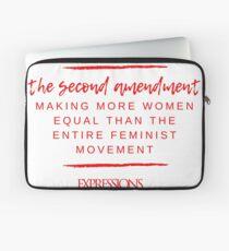 Second Amendment Equality Laptop Sleeve