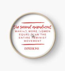 Second Amendment Equality Clock