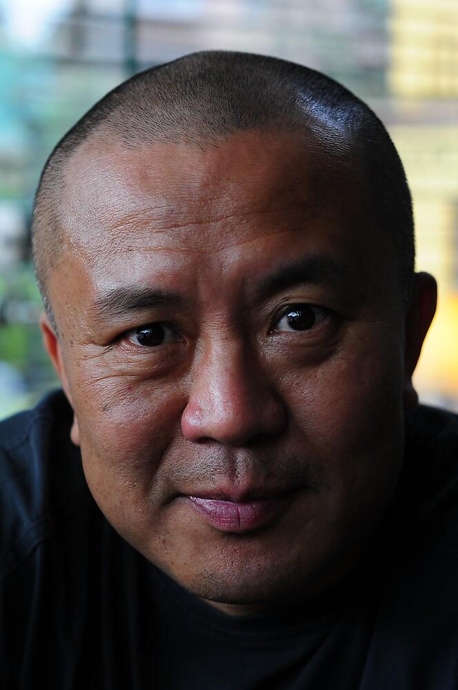 Yehan Wang-portrait of an artist by marcwellman2000