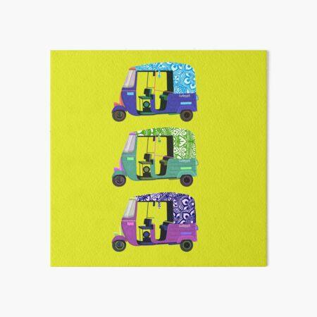 Rickshaw x Suhenna Creations Art Board Print