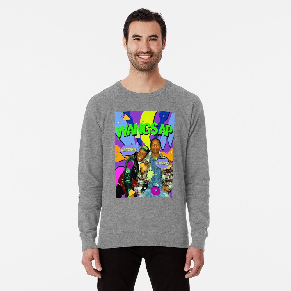 Wang $ ap 90 Leichtes Sweatshirt