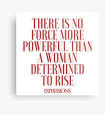 Powerful Woman Metal Print