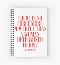 Powerful Woman Spiral Notebook
