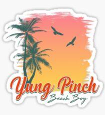 Yung Pinch - Beach Boy Sticker
