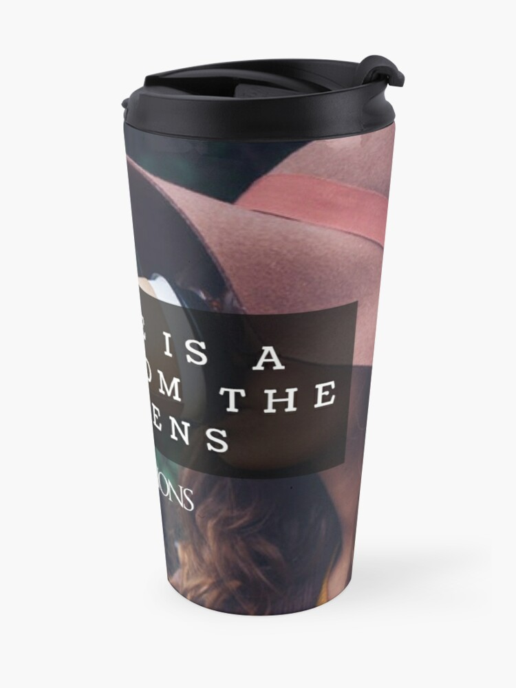 Alternate view of Coffee is a gift Travel Mug