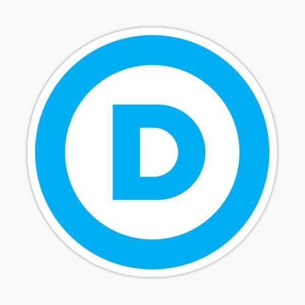 Democratic Party Logo Sticker