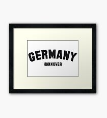 GERMANY HANNOVER Framed Print