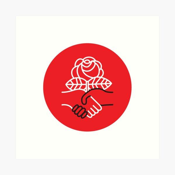 Democratic Socialists of America Art Print