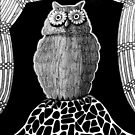 257 - THE OWL - DAVE EDWARDS - INK - 2015 by BLYTHART