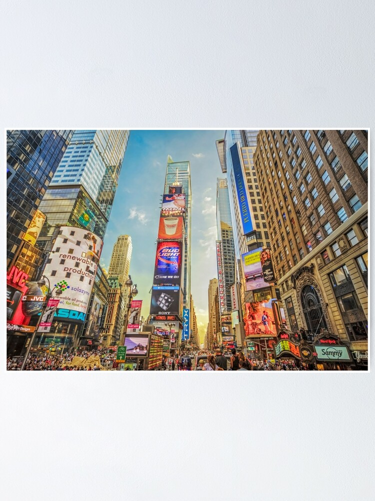 Alternate view of Times Square Hustle Poster
