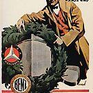 Benz and Daimler merger advertisement 1926 by edsimoneit