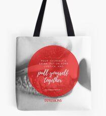 Elizabeth Taylor Quote Tote Bag