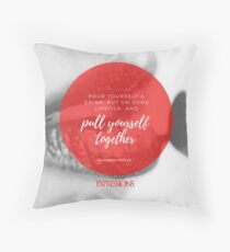 Elizabeth Taylor Quote Throw Pillow