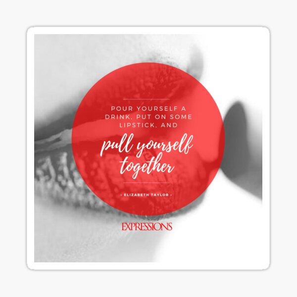 Elizabeth Taylor Quote Sticker