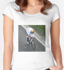 Sir Bradley Wiggins Women's Fitted Scoop T-Shirt