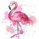 Pink Flamingo by Emma Kaufmann
