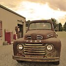 Louisiana Ford Truck by Judy Seltenright