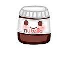 Kawaii Nutella by mikistarlight