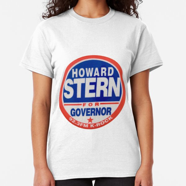 Howard Stern For Governor  Classic T-Shirt