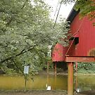 Indiana Covered Bridge by Judy Seltenright