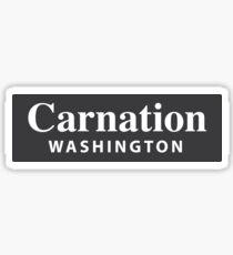 Gartennelke, Washington Sticker