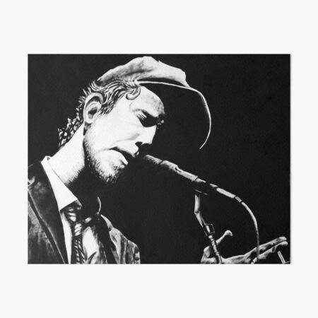 Tom Waits Art Board Print
