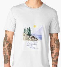 Thankfulness, Psalm 118:24  Men's Premium T-Shirt