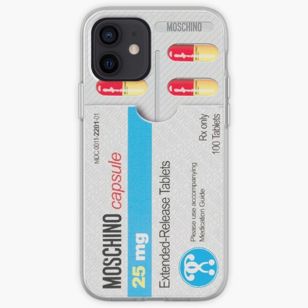 comprimé de Moschino Coque souple iPhone