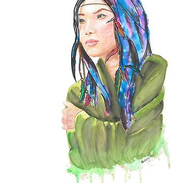 Wintun Girl (original) by Yenrab