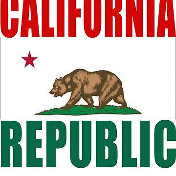 California Republic wares by teesogram