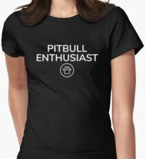 Pitbull Enthusiast Women's Fitted T-Shirt