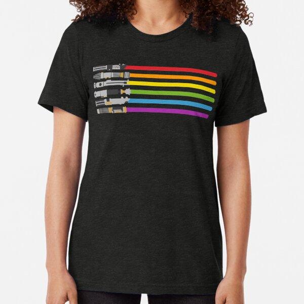 Light saber color 222 Tri-blend T-Shirt