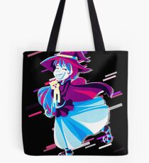Animal cartoon Eighties Retro Violet and Purple Tote Bag