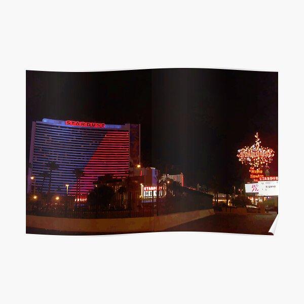 Stardust Las Vegas Vector Graphic #11 Poster