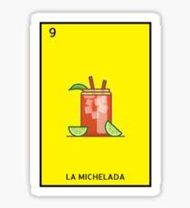 La Michelada Loteria Sticker
