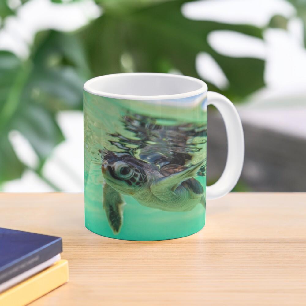 Ocean swimmer Mug