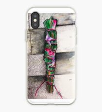 Smudge Stick Watercolor Rose, Eucalyptus and Sage iPhone Case